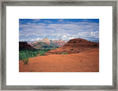 Arizona Sedona Framed Print