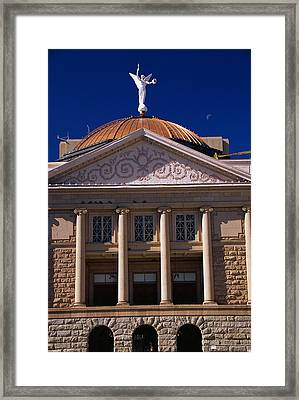 Arizona State Capitol Building Phoenix Framed Print by Panoramic Images