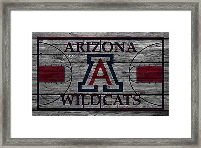 Arizona Wildcats Framed Print