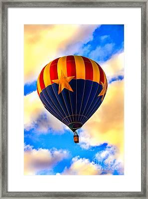 Arizonia Hot Air Balloon Special Framed Print by Robert Bales