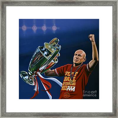Arjen Robben Framed Print by Paul Meijering