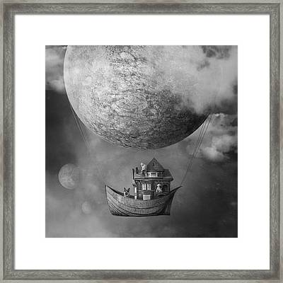Ark Framed Print by Beata Bieniak