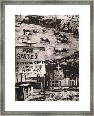 Ark Of Safety Framed Print
