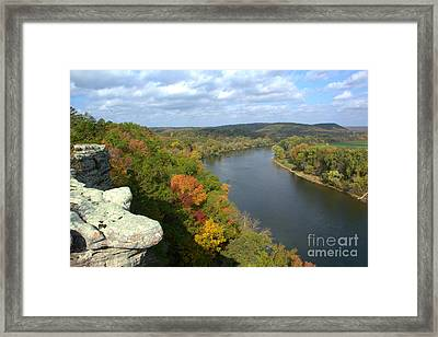 Framed Print featuring the photograph Arkansas 1 by Jim McCain