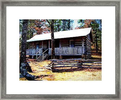 Arkansas' Heritage Framed Print by Vivian Cook