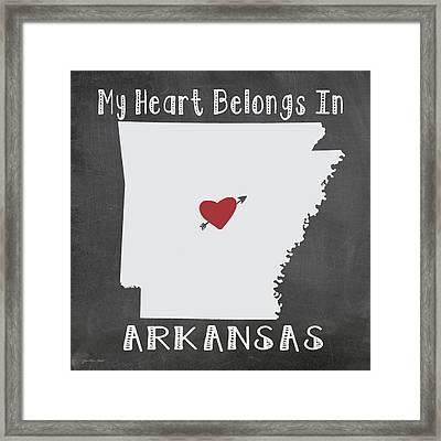 Arkansas Framed Print by Jo Moulton