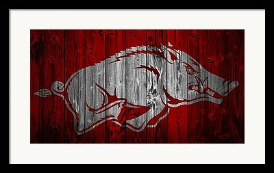 University Of Arkansas Framed Prints