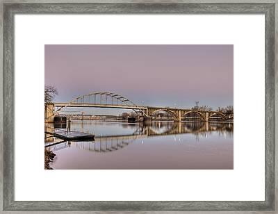 Arkansas Sunrise Framed Print by Ray Devlin