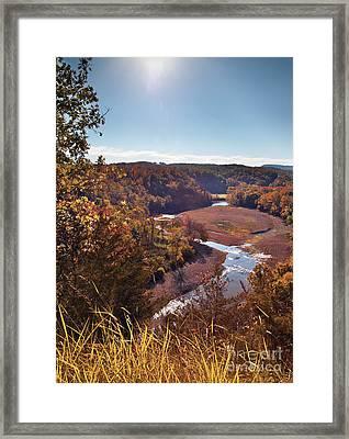 Arkansas Valley Framed Print by Brandon Alms