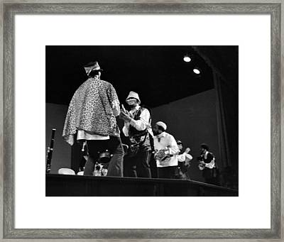 Arkestra Procession 1968 Framed Print by Lee  Santa
