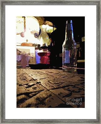 Arkey Blues Bar Top Framed Print