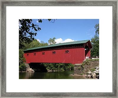 Arlington Bridge 2526a Framed Print