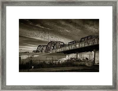 Arlington Bridge Framed Print