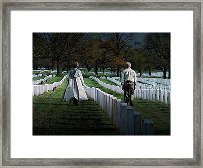 Arlington Framed Print