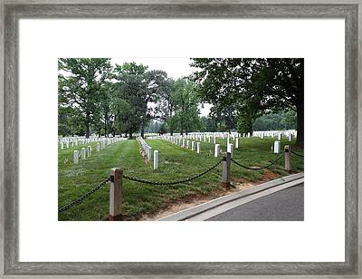 Arlington National Cemetery - 01131 Framed Print