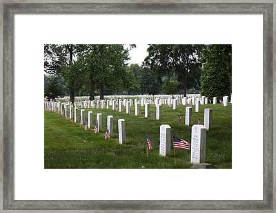 Arlington National Cemetery - 01132 Framed Print by DC Photographer