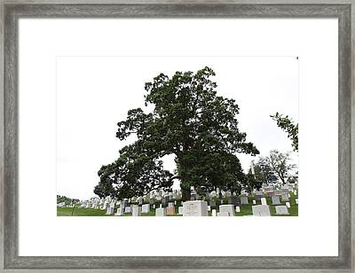 Arlington National Cemetery - 01134 Framed Print by DC Photographer