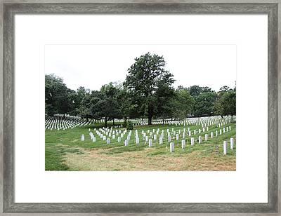 Arlington National Cemetery - 01137 Framed Print by DC Photographer