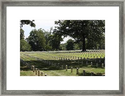 Arlington National Cemetery - 121221 Framed Print by DC Photographer