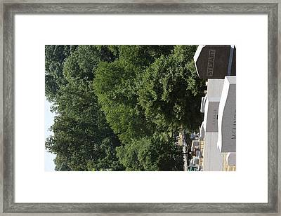 Arlington National Cemetery - 121230 Framed Print by DC Photographer
