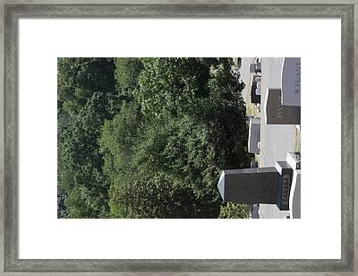 Arlington National Cemetery - 121231 Framed Print by DC Photographer