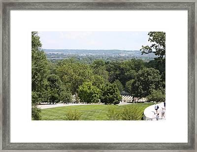Arlington National Cemetery - 121234 Framed Print by DC Photographer