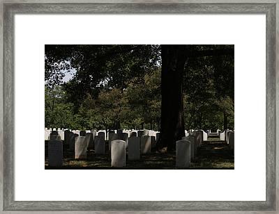 Arlington National Cemetery - 121243 Framed Print