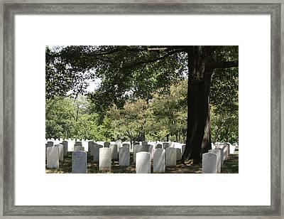 Arlington National Cemetery - 121244 Framed Print