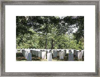 Arlington National Cemetery - 121245 Framed Print by DC Photographer
