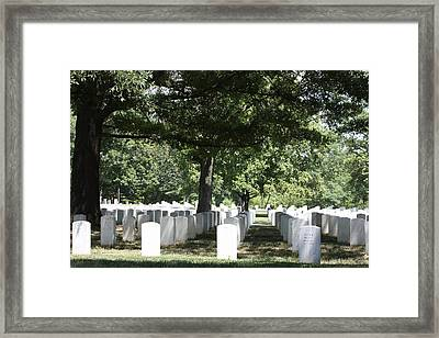 Arlington National Cemetery - 121246 Framed Print