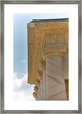 Arlington National Cemetery - Arlington House - 12121 Framed Print by DC Photographer