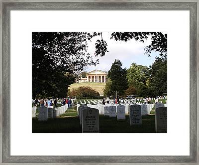 Arlington National Cemetery Framed Print by Bill Cannon