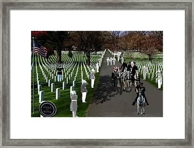 Arlington National Cemetery Framed Print