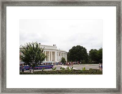 Arlington National Cemetery - Structures On Grounds - 01131 Framed Print