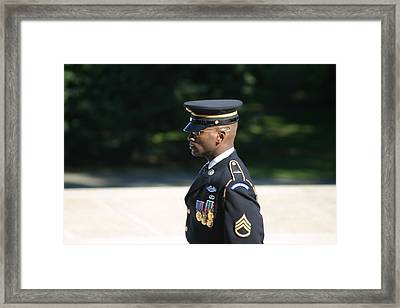 Arlington National Cemetery - Tomb Of The Unknown Soldier - 121211 Framed Print by DC Photographer