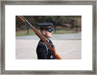 Arlington National Cemetery - Tomb Of The Unknown Soldier - 121219 Framed Print by DC Photographer