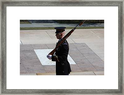 Arlington National Cemetery - Tomb Of The Unknown Soldier - 121225 Framed Print by DC Photographer