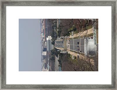 Arlington National Cemetery - View From Arlington House - 12121 Framed Print by DC Photographer