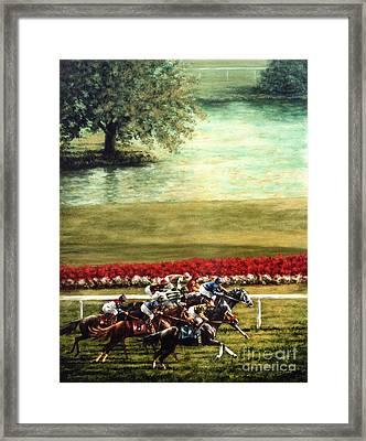 Arlington Park Framed Print by Thomas Allen Pauly