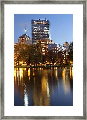 Arlington Street Church Framed Print