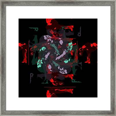 Arm Fan Framed Print by Liana Spinner