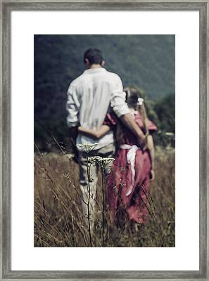 Arm In Arm Framed Print by Joana Kruse