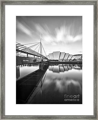 Armadillo And Bells Bridge Framed Print by John Farnan