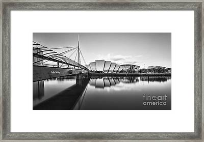 Armadillo Glasgow Scotland Framed Print by John Farnan