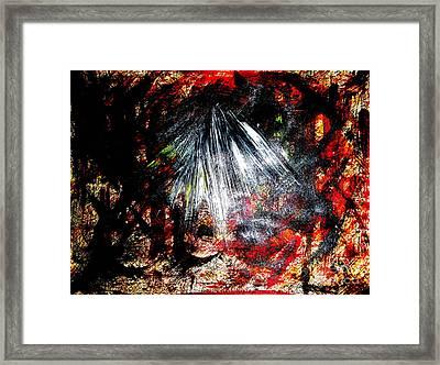 Armageddon 4 Framed Print by Richard W Linford