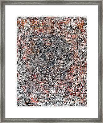 Armageddon 8 Framed Print by Richard W Linford