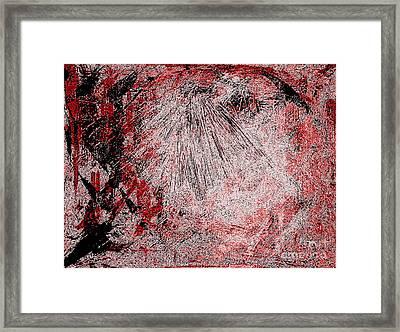 Armageddon Five Framed Print by Richard W Linford