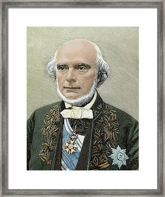 Armand De Quatrefages De Breau, Jean Framed Print