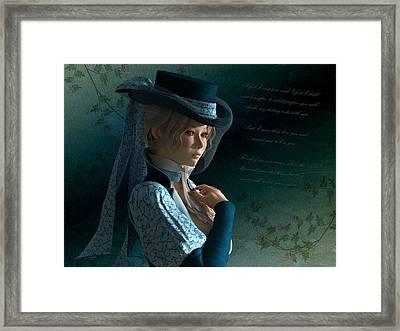 Armandine Framed Print