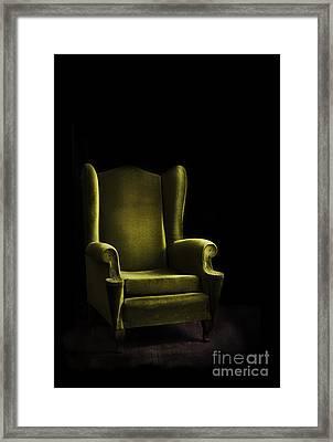 Armchair Framed Print by Jelena Jovanovic